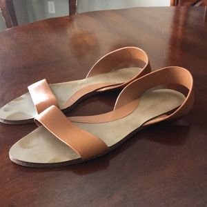 Zara sling back sandals